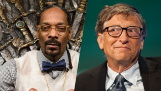 Snoop Dogg And Bill Gates Compete For The Title Of 'Greatest Secret Santa' This Holiday