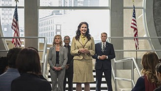 'Wonder Woman's' Lynda Carter Was Almost President In The DC Superhero Crossover