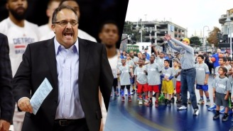 Stan Van Gundy Revealed A Blindfolded Rick Barry Once Beat Him In A Free Throw Contest