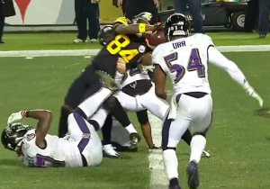 The Steelers Scored An Amazing Last-Second Antonio Brown Touchdown To Win The AFC North