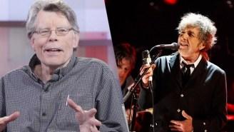 Stephen King Took It Upon Himself To Defend Bob Dylan's Nobel Prize