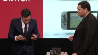Reggie Fils-Aime Gives Jimmy Fallon And The World An Introduction To The Nintendo Switch