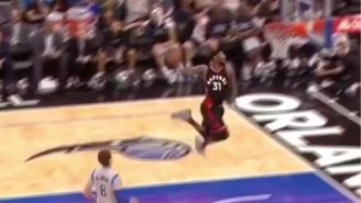 Terrence Ross Was Feeling The Breeze On This Jaw-Dropping Windmill Jam