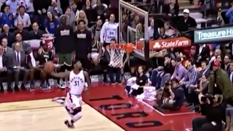 Terrence Ross Embarrassingly Bricked A Windmill Dunk Off The Front Of The Rim