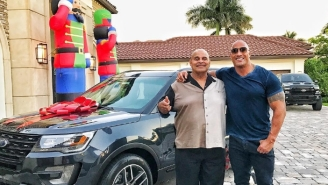 The Rock Shares The Emotional Reason Behind His Father's Christmas Gift