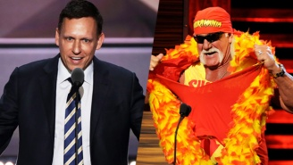 Peter Thiel Reportedly Dressed Up As Hulk Hogan For A Costume Party For Trump Donors