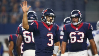 Texans Fans Went Wild When They Saw Brock Osweiler Got Benched For Tom Savage