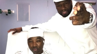 50 Cent Visits Troy Ave In The Hospital And Provides A Positive Update