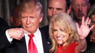 Kellyanne Conway Changed The Subject When A Student Asked About Trump's Alleged Sexual Assault History