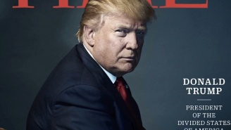 Donald Trump, 'President-Elect Of The Divided States Of America,' Is The New 'Time' Person Of The Year