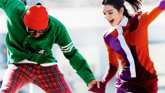 Kendall Jenner And Tyler, The Creator Frolic In His New Golf Line For A Colorful 'Vogue' Spread
