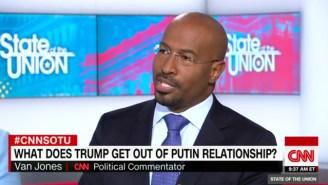Van Jones: Trump's Unwavering Devotion To Russia Is 'Baffling To Anybody With A Functioning Brain Stem'