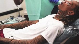 Wiz Khalifa's Wisdom Teeth Extraction Video Is Hilariously Dramatic
