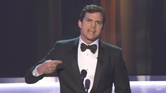 Kerry Washington And Ashton Kutcher Addressed Trump's Immigration Ban In SAG Awards' Opening Segments