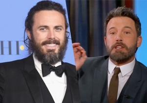 Ben Affleck Takes Out Some Frustration On Casey Affleck Over Being Snubbed In His Golden Globes Speech