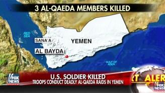 A U.S. Service Member Was Killed In Yemen During President Trump's First Counterterror Raid