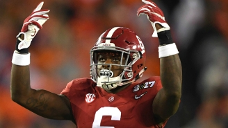 An Alabama Player Thought The Referees 'Were Just Against Us' In The National Championship Game