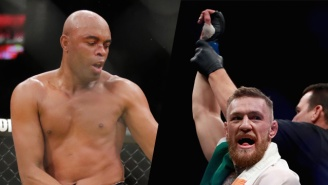 Anderson Silva Wants A Catchweight Fight Against 'Dwarf' Conor McGregor