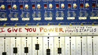 Arcade Fire Returns With A Crackling New Single 'I Give You Power' Featuring Mavis Staples