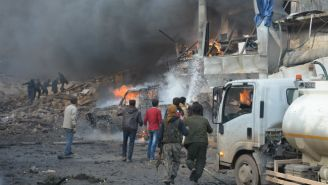 Dozens Have Been Killed Following A Car Bomb Explosion In A Syrian Border Town