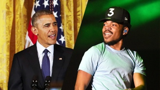 Chance The Rapper Provides A Humorous Recap Of President Obama's Farewell Party