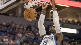 The Timberwolves Hustled After A Loose Ball To Set Up A Shabazz Muhammad Alley-Oop