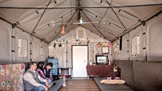 IKEA's Award-Winning Refugee Shelters Are Literally Saving Lives