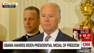 Obama Surprises An Emotional Joe Biden With The Presidential Medal Of Freedom With Distinction