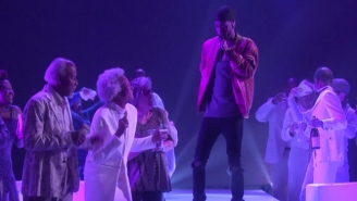 Big Sean Performed 'Moves' For A Crowd Of Seniors On 'Ellen'