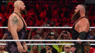 WWE Used A Hilariously Tiny Cart To Drive Big Men To The Ring During The Royal Rumble Match