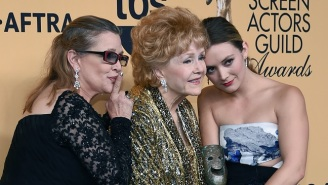 Billie Lourd Remembers Carrie Fisher And Debbie Reynolds, Her 'Momby' And 'Abadaba'
