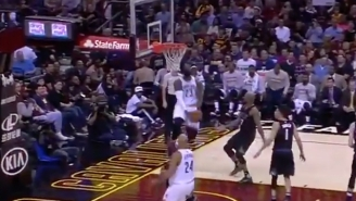LeBron James Nearly Destroyed The Rim On A Pair Of Dunks Against The Suns