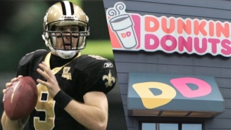 Drew Brees Is Doing A Nice Thing And Bringing Up To 69 Dunkin' Donuts To Louisiana