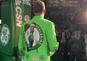 Brian Scalabrine Misspelled His Own Name On His Gloriously-Hideous Jacket