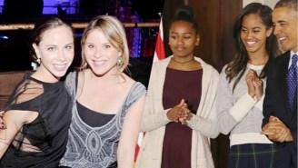 Jenna And Barbara Bush Sent Some Heartfelt Advice To Sasha And Malia Obama