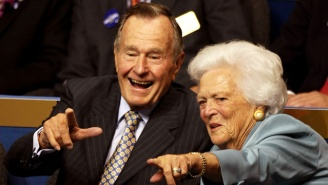 George H.W. Bush Has Been Hospitalized In Intensive Care, Shortly After Barbara Bush's Funeral