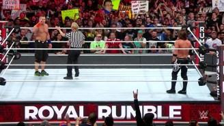 The WWE Championship Match At Royal Rumble Had A Historic Result