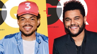 Chance The Rapper And The Weeknd Share The Cover Of GQ's February Issue
