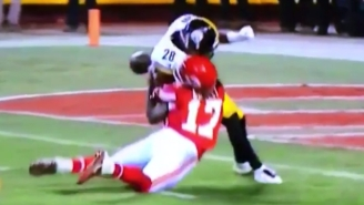 Chris Conley Somehow Came Back Into The Game After This Devastating Steelers Hit