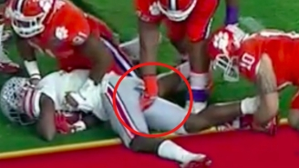 Clemson Players Talk About The Art Of Poking And Grabbing Opponents' Butts And Balls