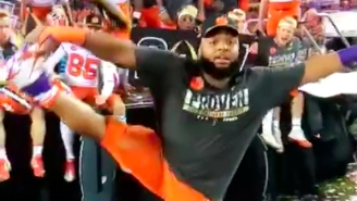 Clemson's Christian Wilkins Had The Greatest Celebration In National Championship History