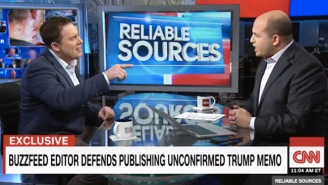 Buzzfeed's Ben Smith Defends His Decision To Publish The 'Golden Showers' Dossier To CNN's Brian Stelter