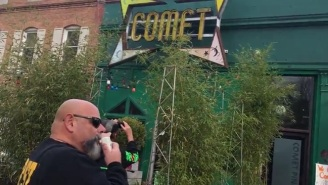 Anti-LGBT Protesters Are Picketing Outside Comet Ping Pong, The Restaurant At The Center Of The Insane Pizzagate Conspiracy