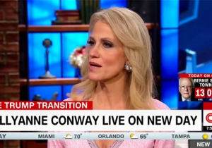 Kellyanne Conway Can't Believe People Listen To What Trump Says 'Rather Than Look At What's In His Heart'