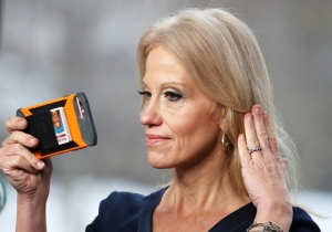 Kellyanne Conway Allegedly Punched A Man In The Face At An Inaugural Ball And Is Now Getting Secret Service Protection