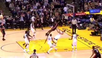 Stephen Curry Got Annihilated On This Buzzer-Beater Dunk By James Johnson