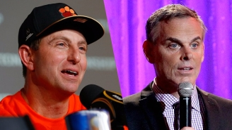 Dabo Swinney Tore Apart 'Fraud' Colin Cowherd After Clemson Won The National Championship