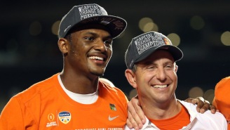 Dabo Swinney Went Off On Anyone Who Doesn't Think Deshaun Watson Is A First Rounder