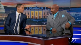 'The Daily Show' Attempts To Make Sense Of Trump's Attack On Rep. John Lewis With Help From 'Steve Harvey'