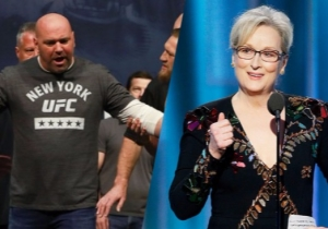Dana White Isn't Concerned With The Opinion Of 'Uppity, 80-Year-Old' Meryl Streep